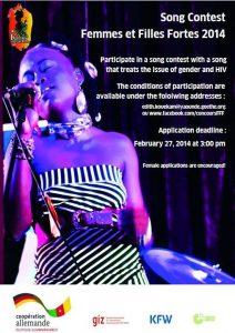 Femmes et Filles Fortes 2014 , song contest