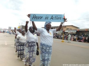 Message of peace promoted by the Catholic Women Association
