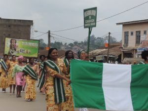 Nigerian women join their counterparts to celebrate IWD 2014 in Cameroon