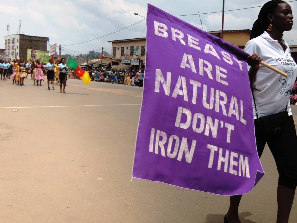 Campaign against breast ironing