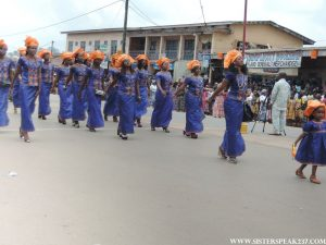 Women's day celebrations in Bamenda, Cameroon