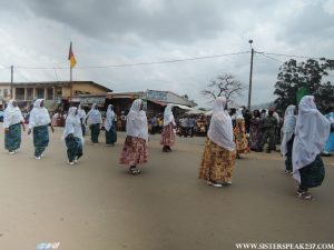 Women's day parade in Bamenda, regional capital of the North West Region of Cameroon.