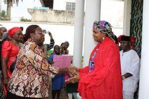 Chantal Kingue Ekambi and Nigerian High Commissioner
