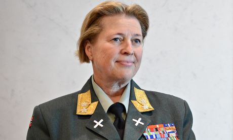 Major General Kristin Lund will be the commander of the UN peacekeeping force in Cyprus. Photo credit Photograph: Xinhua /Landov/Barcroft Media