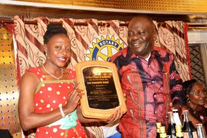 Rotary International Honors Founder of sisterspeak237.com