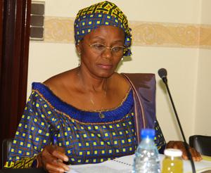 Minister Marie Thérèse Abena Ondoa